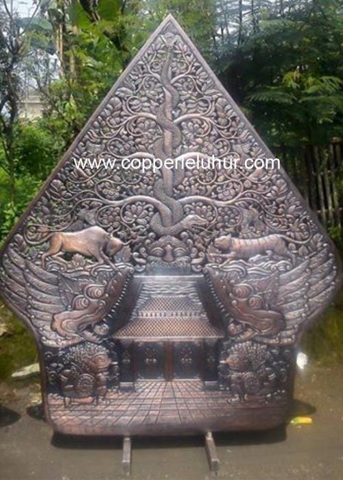 Kerajinan Gunungan dari Tembaga, sumber : Copper Leluhur