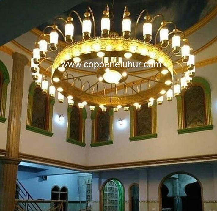 Lampu Hias Nabawi, sumber : Copper Leluhur