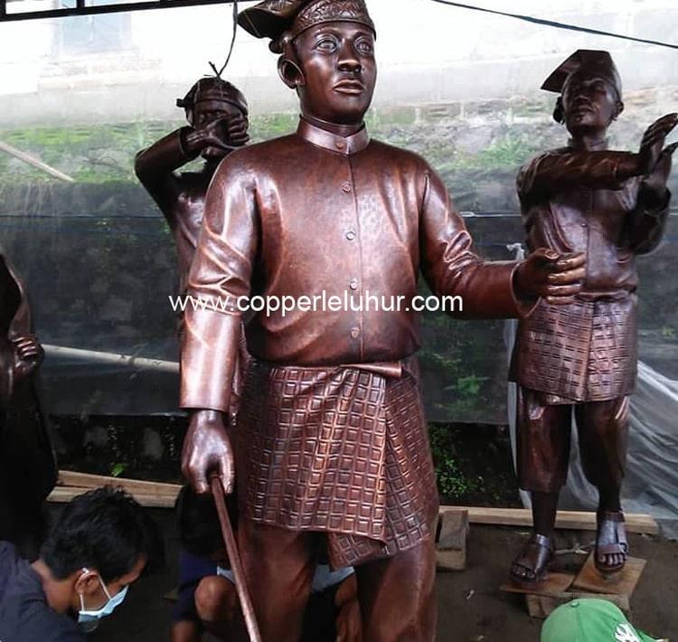 Pembuatan Patung Tembaga, sumber Copper Leluhur