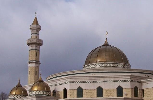 Masjid Berkubah Tembaga, sumber : Kerajinan Tembaga dan Kuningan Tumang, Cepogo, Boyolali